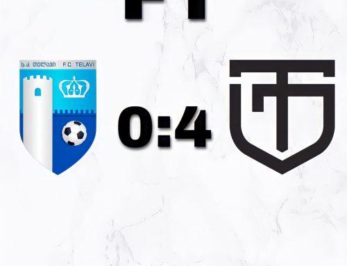 """XIII ტური: """"თელავი"""" 0:4 """"ტორპედო"""" (ქუთაისი)"""