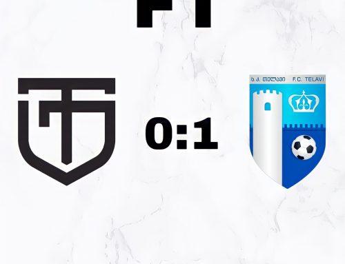 """XXII ტური: """"ტორპედო"""" (ქუთაისი) 0:1 """"თელავი"""""""